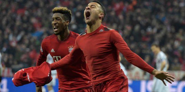 VIDÉOS. Le Français Kingsley Coman envoie le Bayern en quarts de finale de la Ligue des Champions contre...
