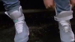 Les Nike auto-laçantes ne ressemblent pas à
