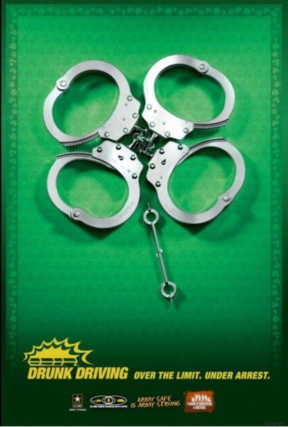 Saint Patrick 2016 : la mauvaise blague de la police anglaise sur
