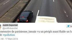La circulation alternée à Paris vue par les
