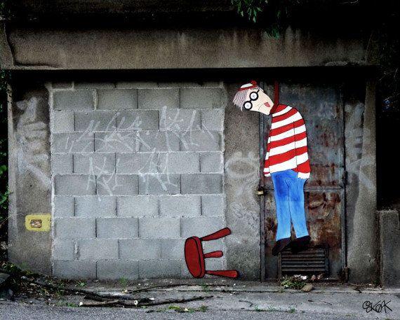 PHOTOS. Oakoak, le street artist français qui ne voit pas la rue comme