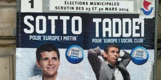 Municipales: Europe 1 attaqué pour sa campagne sur les panneaux