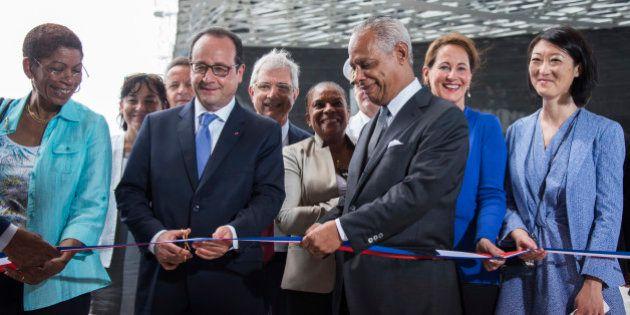 PHOTOS. François Hollande inaugure le Mémorial ACTe sur l'escalavage en