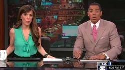 Tremblement de terre à Los Angeles: des présentateurs terrifiés par les