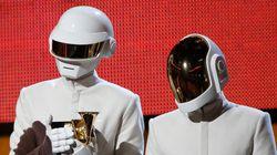 Les Daft Punk sans casque pour le plasticien Xavier