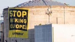 Action surprise de militants Greenpeace à