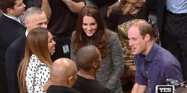 Kate Middleton et Beyoncé se rencontrent pour la première fois à