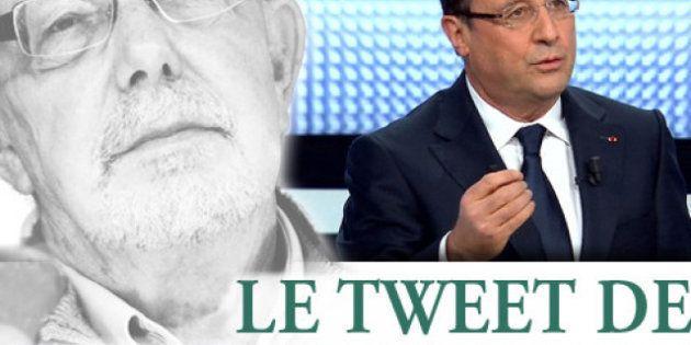 Le tweet de Jean-François Kahn - Mon Dieu quel bonheur d'avoir un président