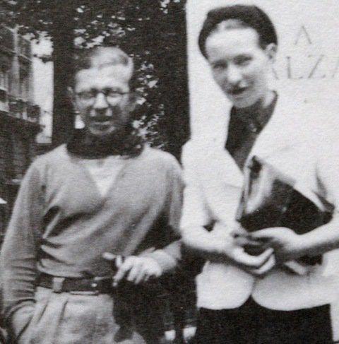 Lettre de Simone de Beauvoir à Nelson Algreen: