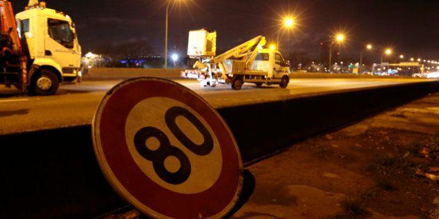Vitesse sur les routes: une expérimentation à 80 km/h dès cet été sur trois