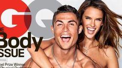 Cristiano Ronaldo et Alessandra Ambrosio presque nus pour