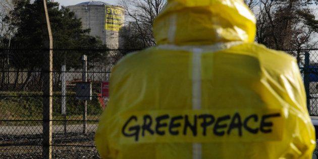 Nucléaire: EELV réclame l'impunité pour les militants de Greenpeace et la fermeture de