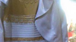 Bleue et noire? Blanche et dorée? Tout dépend de notre âge et de notre