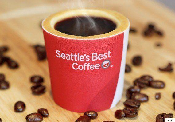 PHOTOS. KFC: la chaîne de fast-food sort une tasse de café