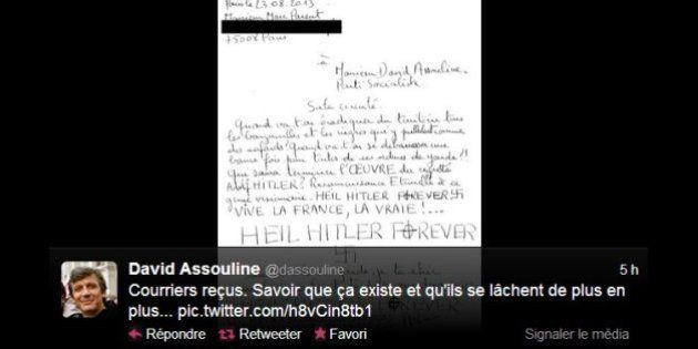 Lettres anonymes sur Twitter: quand les politiques dévoilent leurs courriers