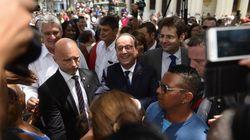 À Cuba, Hollande appelle à