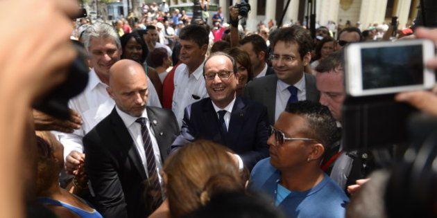 Cuba : François Hollande, reçu par Fidel Castro, appelle à
