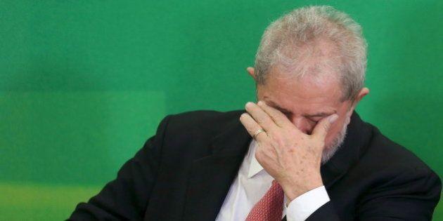 L'entrée de Lula au gouvernement de Dilma Rousseff suspendue par un