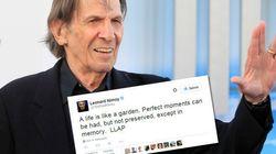 L'émouvant dernier tweet de Leonard