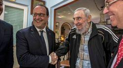 Hollande rencontre Castro: