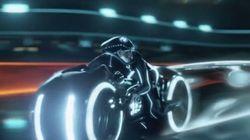 Inspirée du film Tron, cette moto éveillera le