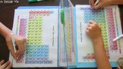 Elle a créé un jeu pour faire apprendre le tableau périodique à ses