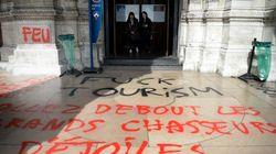 Un acte de vandalisme au Sacré-Coeur tourne à l'attaque