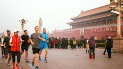 Mark Zuckerberg brave le brouillard polluant de Pékin pour séduire la
