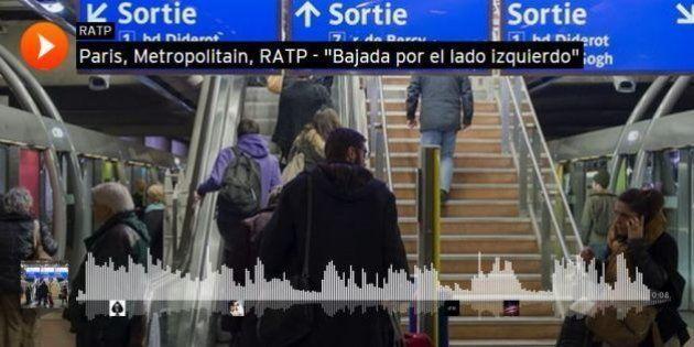 Les sons du métro parisien publiés sur le compte Soundcloud de la