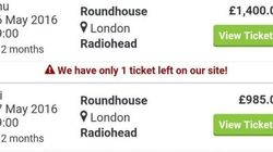 Voici combien les Anglais sont prêts à payer pour assister au concert de