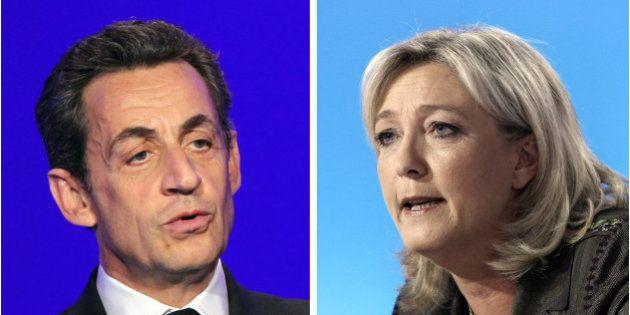 Départementales 2015: FN et UMP à égalité selon un
