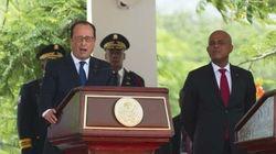 Hollande en Haïti sur fond de polémique sur l'acquittement de la