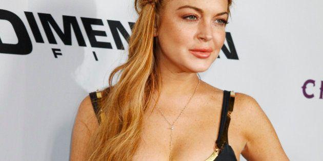 Lindsay Lohan victime du vol de son ordinateur portable plein de photos d'elle