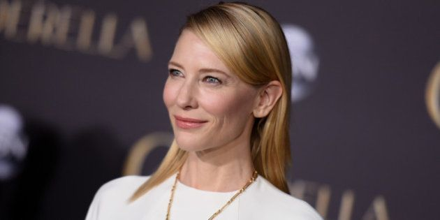 Cate Blanchett arrives at the World Premiere