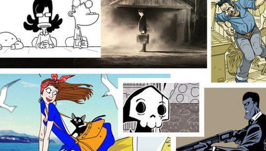 BD: 6 dessins inédits réalisés pour Le