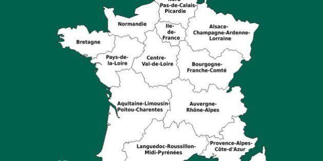 Nouvelles régions: quatre départements ne sont pas intégrés dans la bonne, selon France