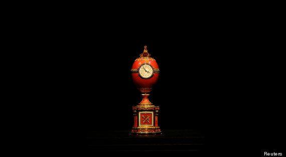 PHOTOS. Un œuf de Fabergé perdu il y a 90 ans retrouvé dans un marché aux puces