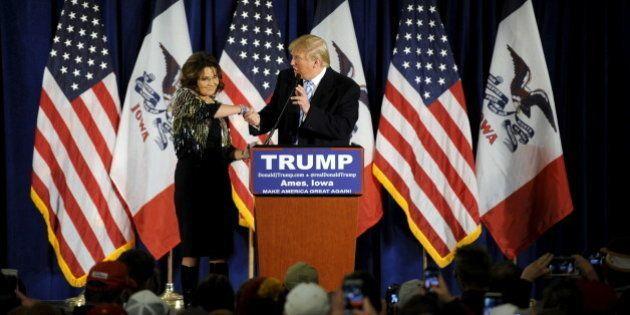 Pour Sarah Palin, Donald Trump est le