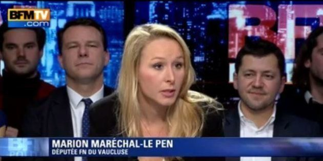 Pour Marion Maréchal Le Pen,