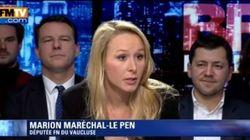 Pour Marion Maréchal Le Pen, les attentats n'auraient