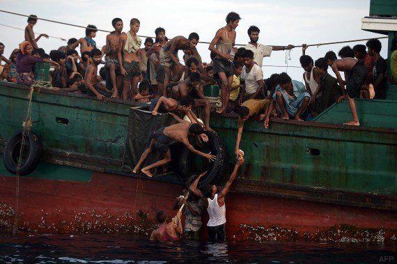 Migrants en Asie-Pacifique: bateaux refoulés, passeurs arrêtés... les gouvernements emploient la manière