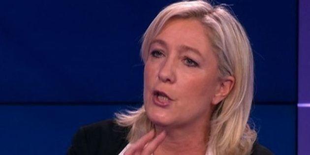 VIDÉO. Marine Le Pen met au défi le journaliste de trouver un jour où elle a parlé de