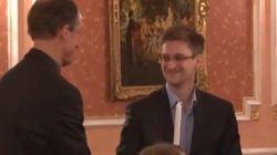 Wikileaks dévoile les premières images de Snowden exilé en