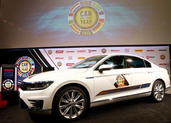 PHOTOS. La Volkswagen Passat élue voiture européenne de l'année au Salon de l'automobile de