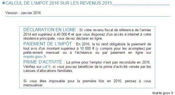 Vos impôts vont-ils baisser en 2016? La réponse avec le simulateur