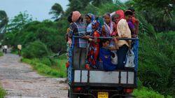 L'évacuation d'un million de personnes limite le nombre des morts en