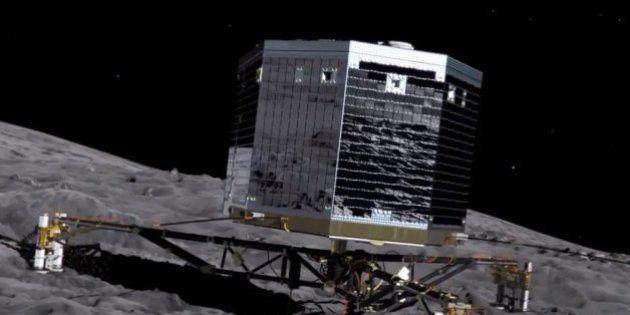 Mission Rosetta: Philae n'a pas réussi son forage sur la comète