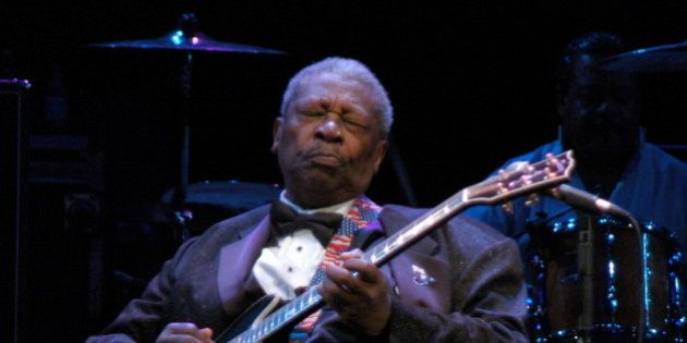 BB King live in Trento (Italy)