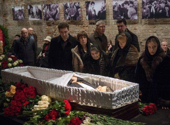 Boris Nemtsov enterré à Moscou, des personnalités européennes empêchées de se rendre aux