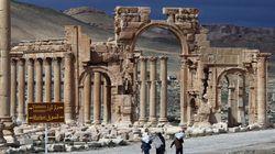 La cité antique de Palmyre menacée par l'avancée de